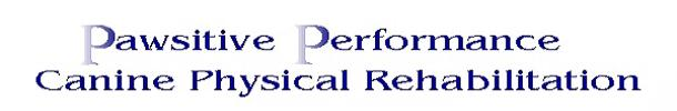 Pawsitive Performance Canine Physical Rehabilitation